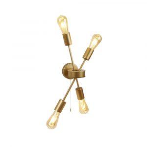 2904-4GO - fali lámpa